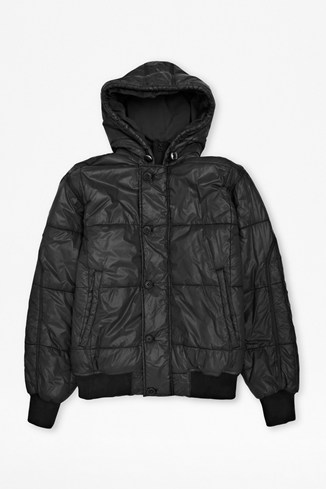 Overdyed Puffa Jacket