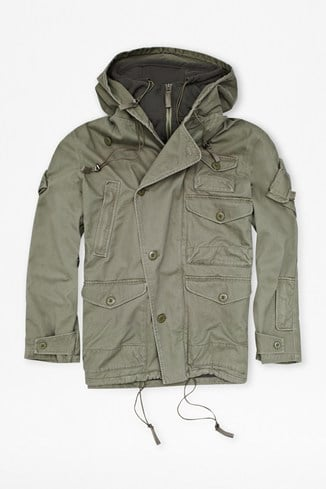 Supersoft Cotton Army Jacket