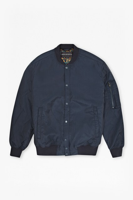 Poly Coating Bomber Jacket