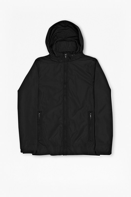 aura taped run jacket