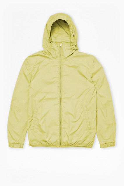 Aura Nylon Run Hooded Jacket