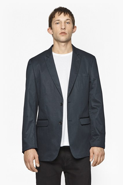 Moriarty Cotton Skinny Blazer