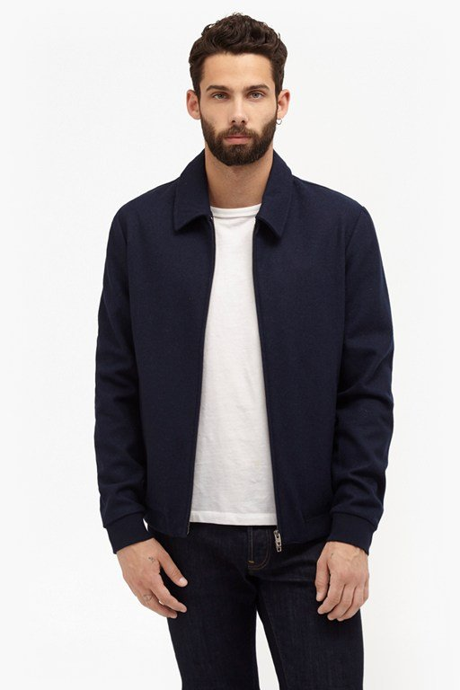 Complete the Look Winter Marine Melton Jacket