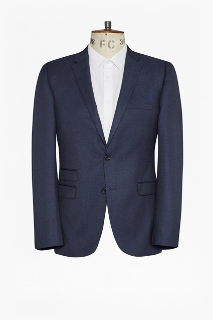 Image For Bright Blue Milled Jacket - Bright Blue