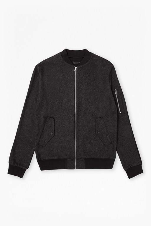 Complete the Look Sweat 2 Melton Wool Bomber