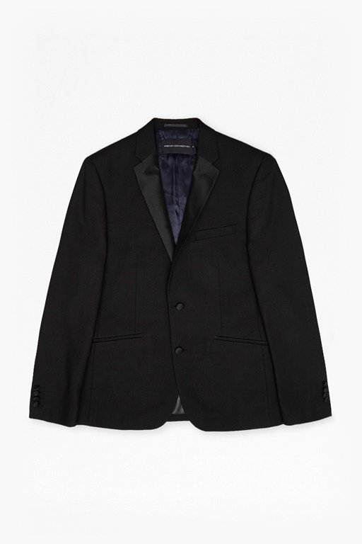 Complete the Look Black Textured Dinner Jacket