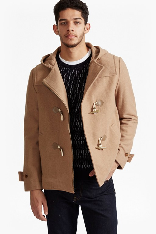 Complete the Look Marine Melton Duffel Coat