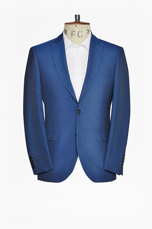 slim pin dot suit jacket