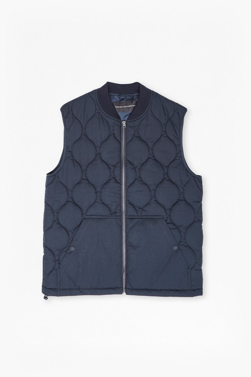 Complete the Look Bordello Poplin Gilet