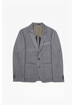 Double Face Wool Jersey Blazer
