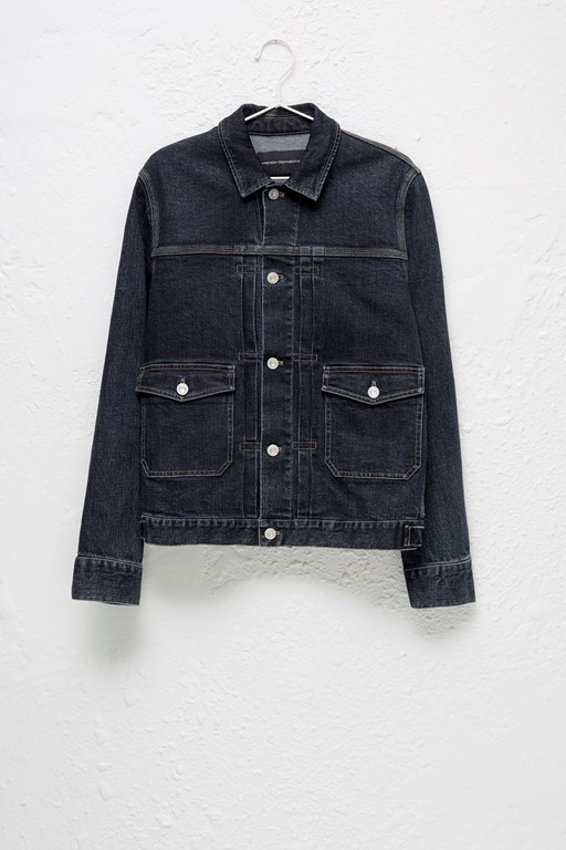 Complete the Look Denim Workwear Jacket