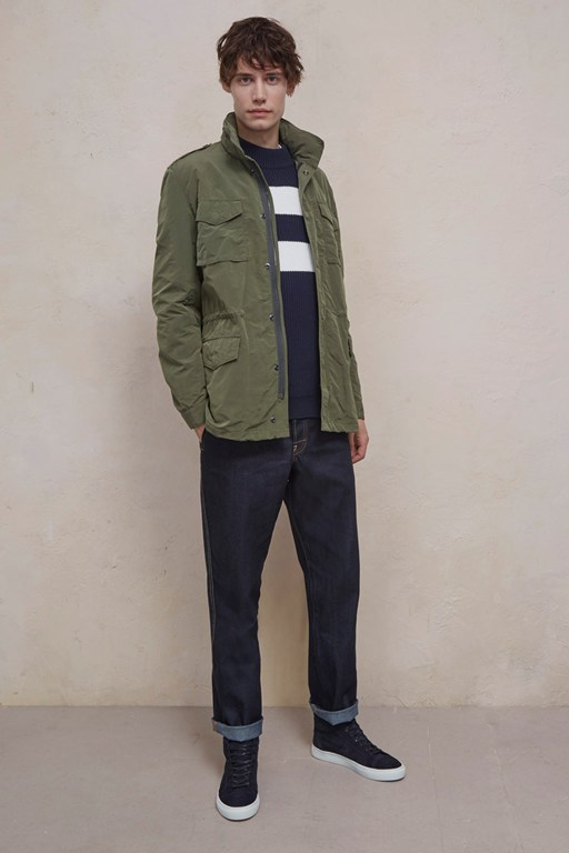 wax sanded field jacket