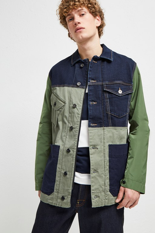 Complete the Look Field Patchwork Jacket