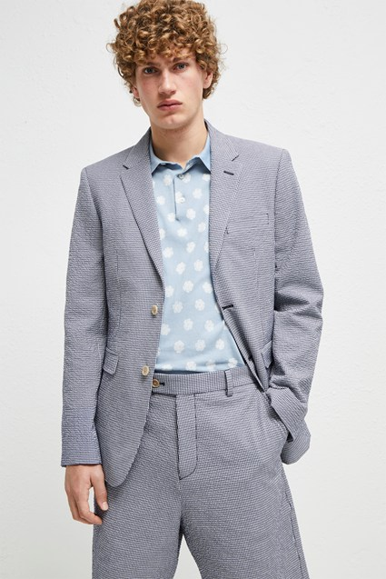 Seersucker Suiting Jacket