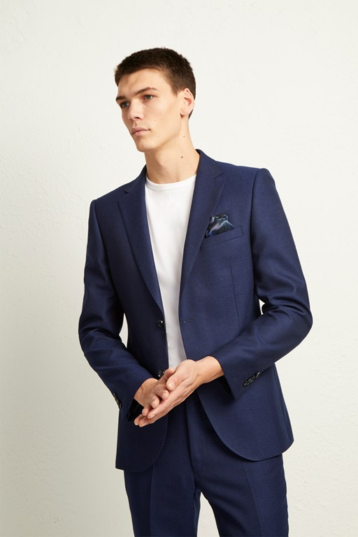 Complete the Look Ink Flannel Suit Jacket