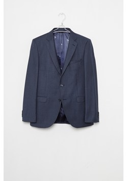 Blue Dogtooth Suit Jacket