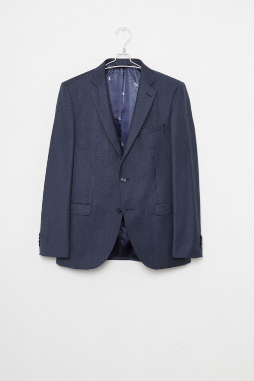 Complete the Look Blue Dogtooth Suit Jacket