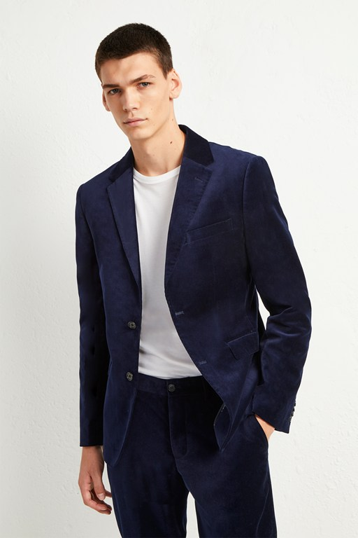Complete the Look Plush Velvet Jacket