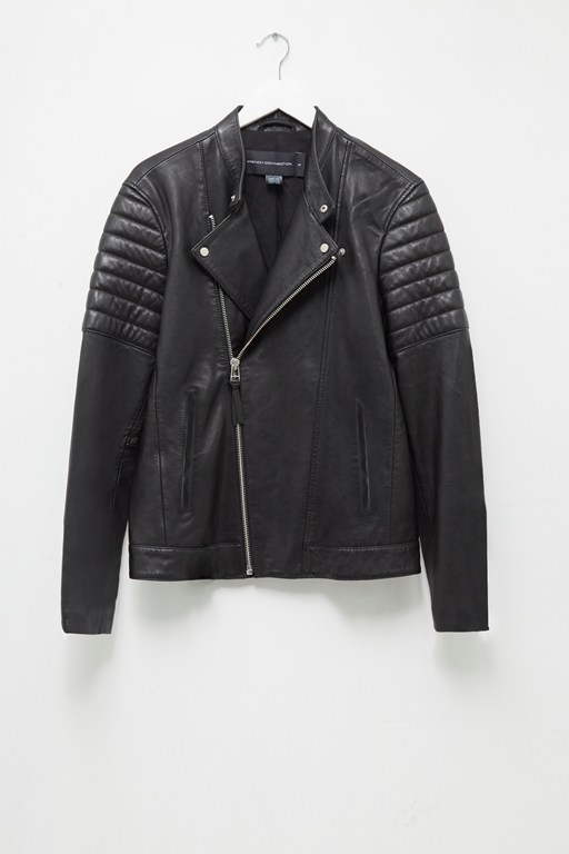 Complete the Look Bleeker Leather Biker Jacket