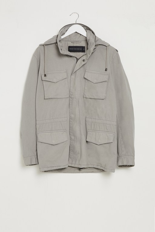 washed field jacket