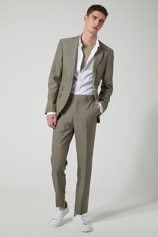 sage slim fit suit jacket