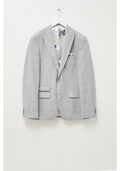 Pebble Marl Slim Fit Jacket