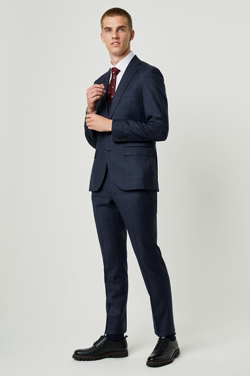 puppytooth suit jacket