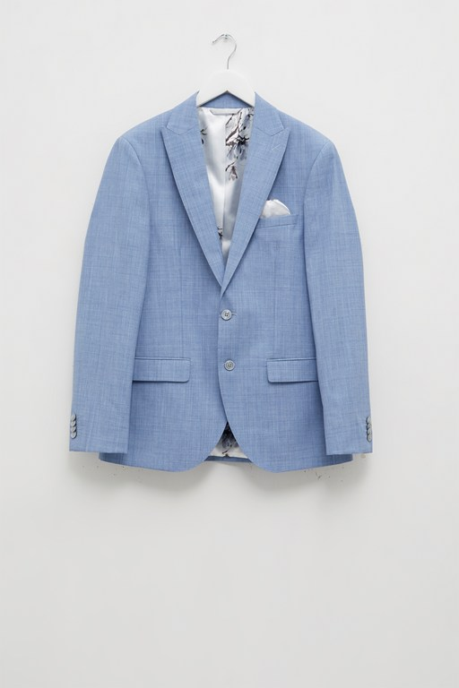 Complete the Look Sky Blue Marl Suit Jacket