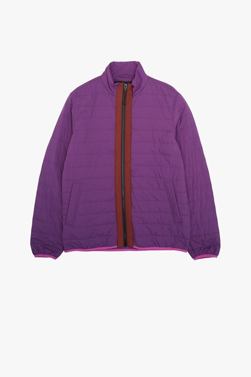 lightweight nylon quilted jacket