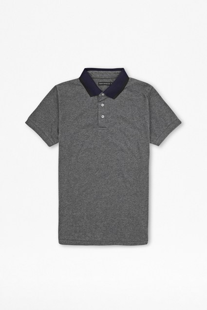 Black Hole Peached Polo Shirt