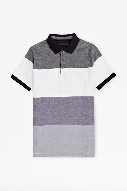 Oxford Sniper Striped Polo Shirt