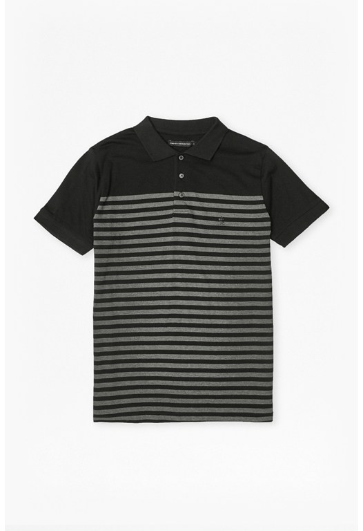 3/4 Stripe Polo Shirt