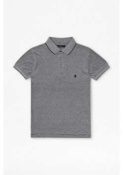 Oxford Pique Cotton Polo Shirt