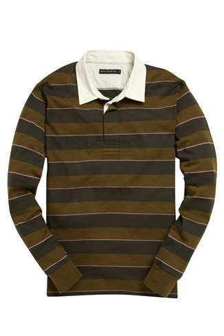 Crusader Stripe Rugby Top