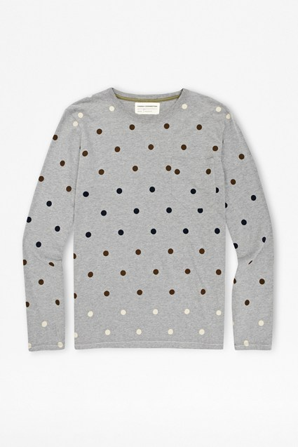 Gradient Polka Dot T-Shirt