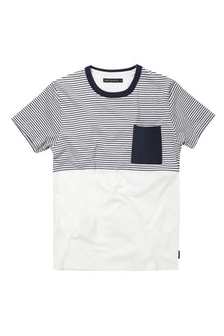 Strategy Striped T-Shirt