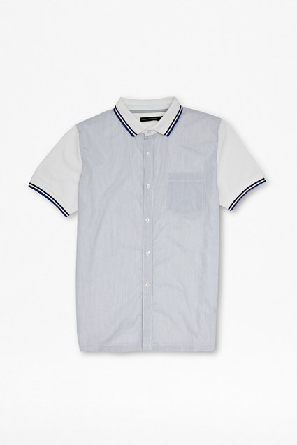 Battle Cotton Polo Shirt