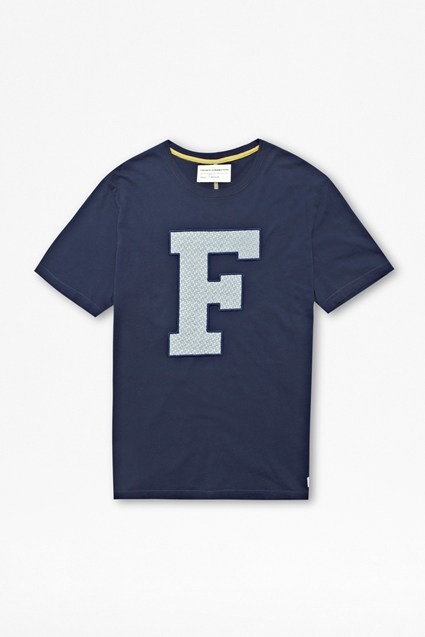 Floral 'F' T-Shirt