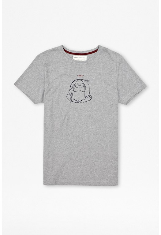 Omg Buddha Cotton T-Shirt