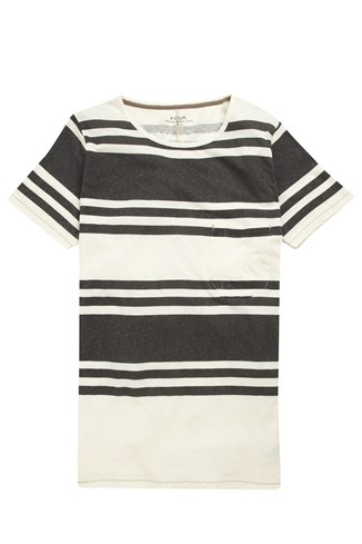 Trunk Stripe Crew Tee