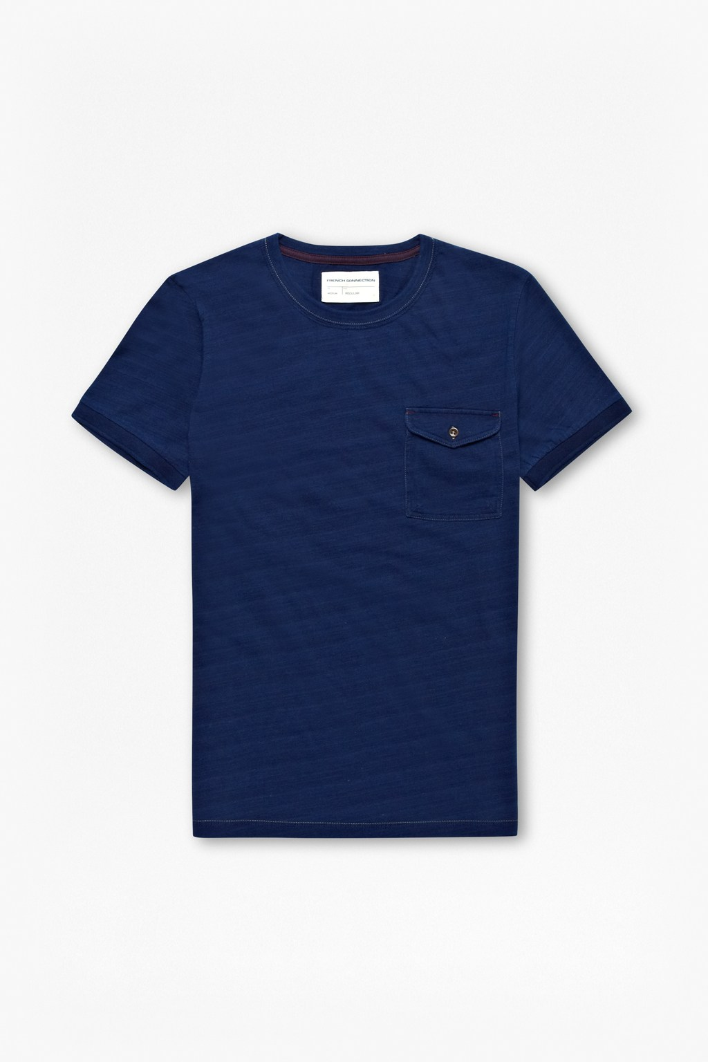 Indigo Jersey T-Shirt : Collections : French Connection