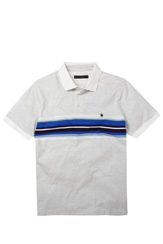 Colourful Albany Engineered Polo