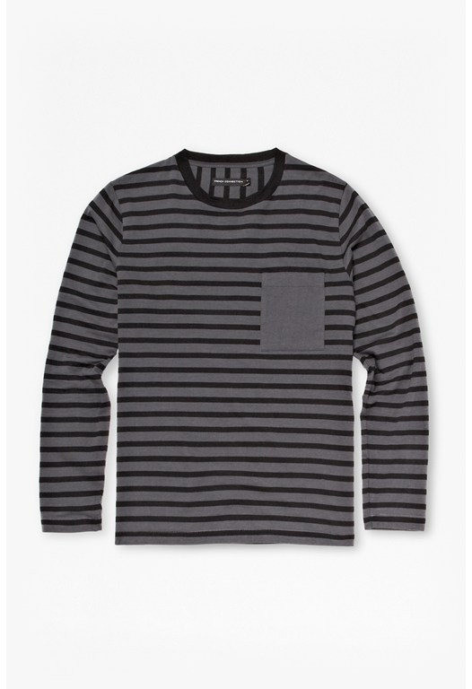 Double Stripe Long Sleeved T-Shirt
