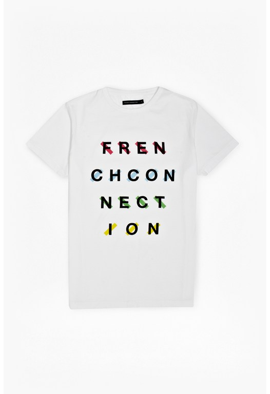 French Connection Tape T-Shirt