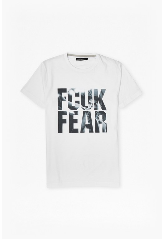 Fcuk Fear Printed T-Shirt