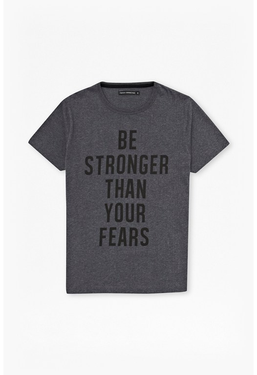 fcuk fear Stronger Than Your Fears T-Shirt