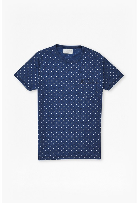 Indigo Dot T-Shirt