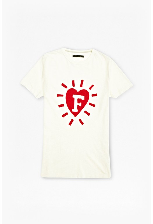 F-In Heart Graphic T-Shirt