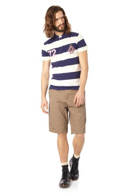 Panther Paddy Stripe Polo Shirt