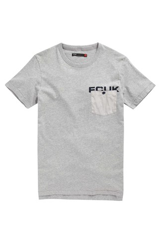 Fcuk Pocket Patch T-Shirt